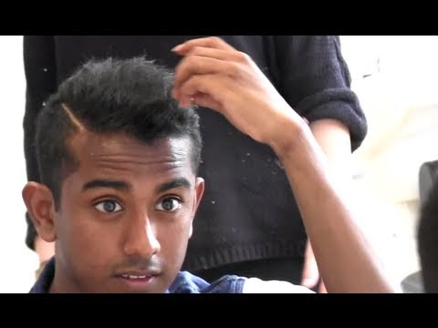 Men's Short Hair Tutorial | How To Style & Straighten | Asian / india hairstyle