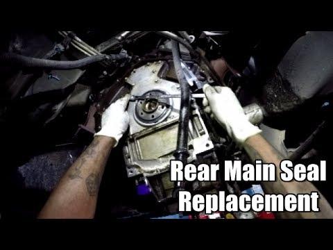 Rear Main Seal Replacement 2002-2006 Cadillac Escalade