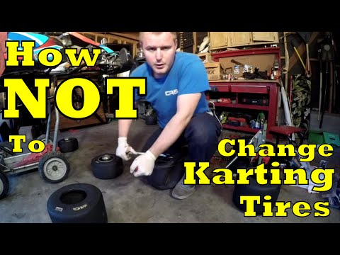 How NOT to: Change Karting Tires