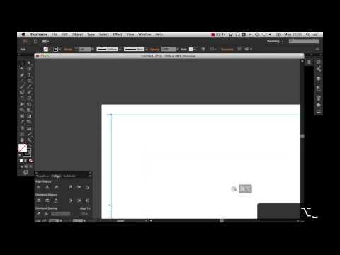 12 column grid and margin in Illustrator