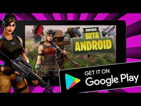 FORTNITE MOBILE - HOW TO GET FORTNITE IN GOOGLE PLAY STORE !!