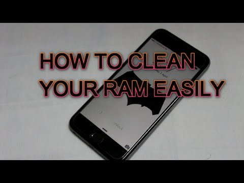 HOW TO CLEAN YOUR IPHONE'S RAM,CACHE MEMORY EASILY WITHOUT ANY APP