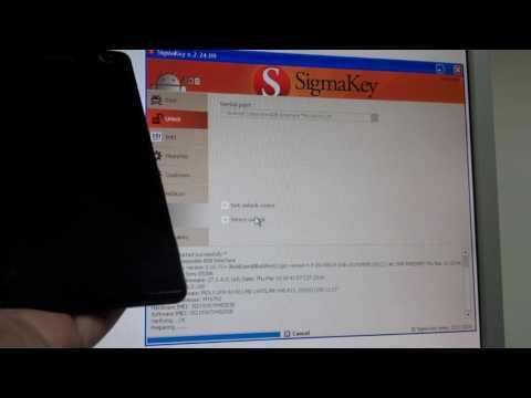 Sony Xperia C4 E5306 unlock and IMEI Repair with Sigma