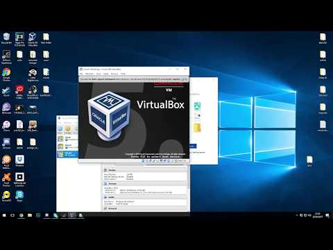 How to set up a client and server in Virtual Box