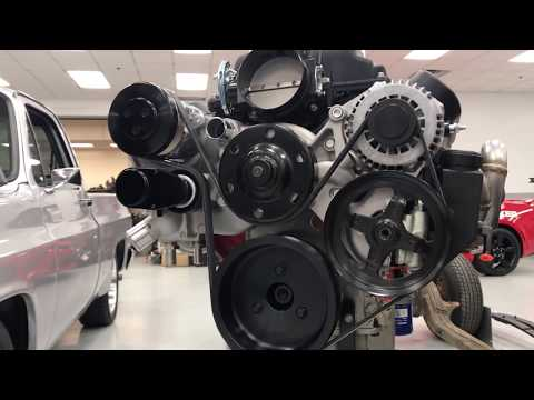 Holley Mid Mount Engine Accessory Drives Serpentine LS Swap System