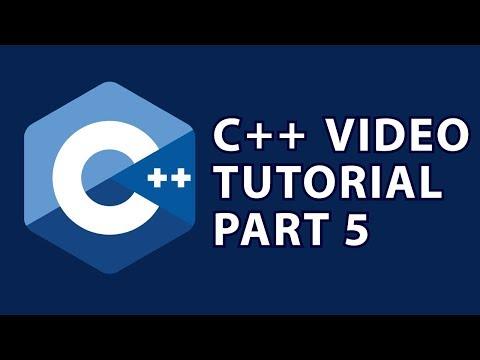C++ Tutorial 5 : Strings & Math