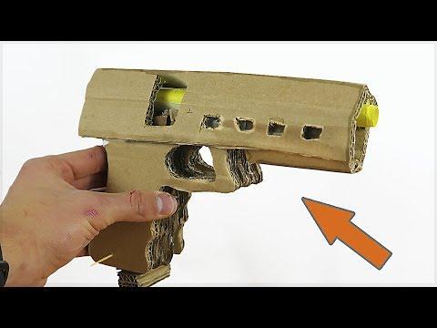 RECHARGEABLE CARDBOARD GLOCK - DIY