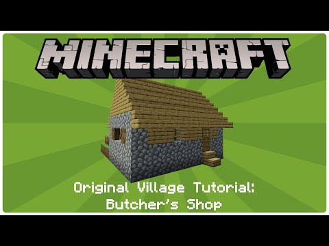 How to build an NPC Village - Butcher's Shop