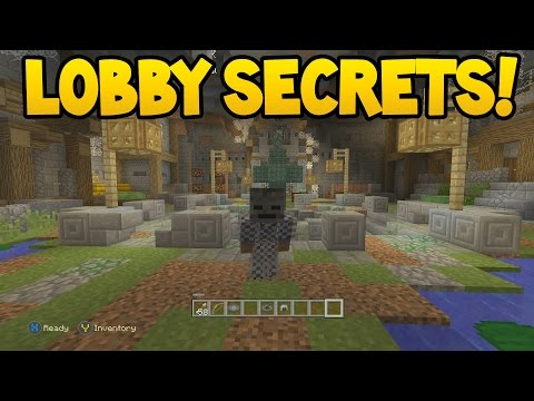 NEW LOBBY SECRETS in Minecraft Console Edition! (TU51 Update)