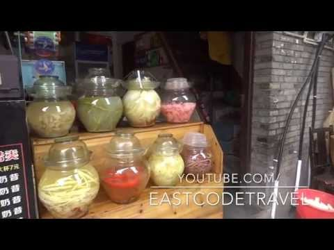 Chinese Vegetable pickle in jars
