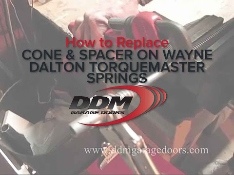 How to Replace the Cone and Spacer on a Wayne Dalton Torquemaster spring