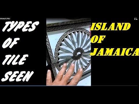 Different Tiles in Jamaica