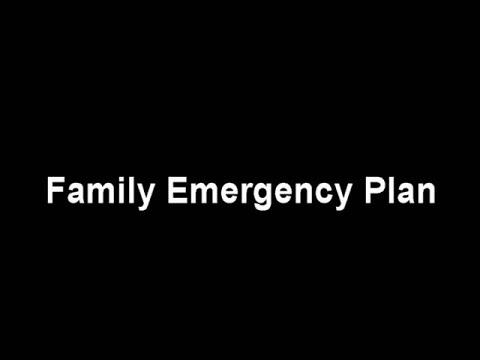 Ready Iowa: Make a Family Emergency Plan