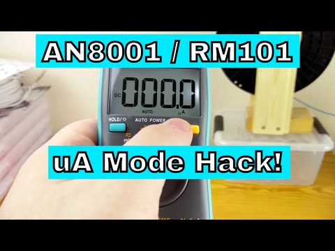Adding MicroAmp Mode To AN8001 / RM101 | READ THE DESCRIPTION!