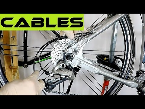 How to change cables / housing for shifting / braking. Replace bike cables. Tutorial