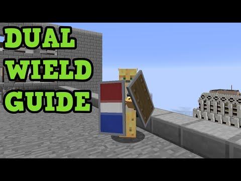 Minecraft Xbox / PS4 - DUAL WIELDING Tutorial (TU43)
