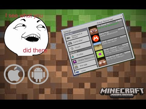 How To Download Addons on Minecraft PE for iOS/android (NO JAILBREAK ) WORKING
