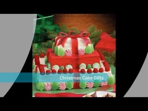 Holiday Christmas Cake Gifts