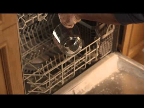How to clean your dishwasher with CLR Calcium, Lime & Rust Remover