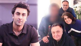 Ranbir Kapoor Best Friend Meets Rishi & Neetu Kapoor In New York