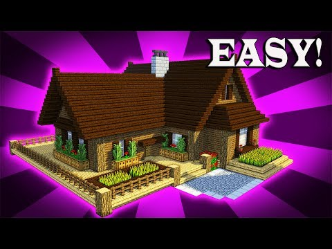 How To Build A EPIC Wooden House In Minecraft! (#2)