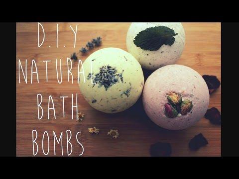 D.I.Y Natural Bath Bombs