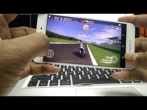 OPPO R7s Game Test