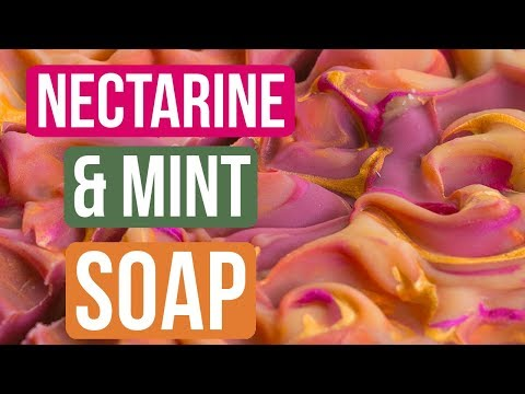 Nectarine & Mint Soap | Royalty Soaps