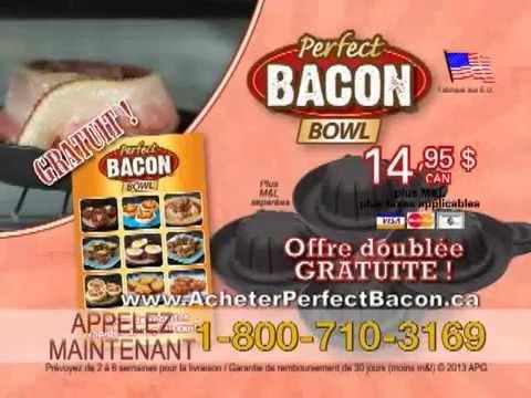 Acheter Perfect Bacon Bowl Francais | 1-800-710-3169