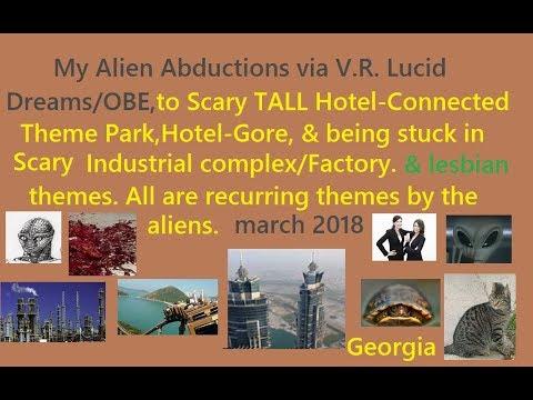 My Lucid Dreams by Reptilian, Hotel, Gore,  Theme Park Malfunction, Dangerous Industrial Factory.XX.