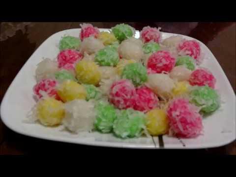 Ua Coconut Ball (noj qab heev)
