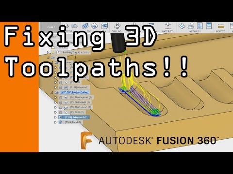 Fusion 360 CAM: 3D Toolpath Containment!   FF55