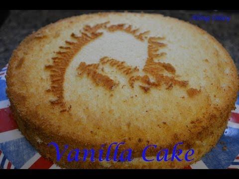 Vanilla Chiffon Cake Filipino Version