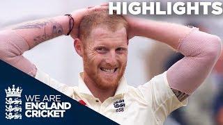 Kohli hits brilliant 97 as Stokes returns | England v India 3rd Test Day 1 2018 - Highlights