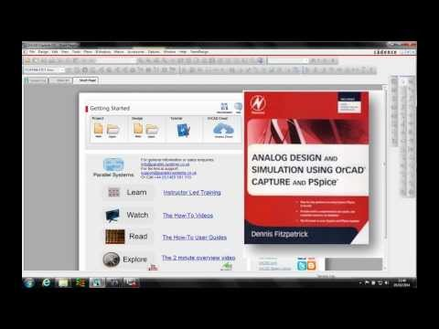 OrCAD PSpice Simple Circuit Page 131 Video 5 of 6