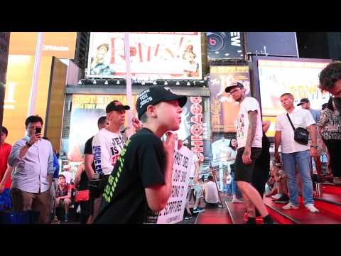 Street Preaching -- TIME to wake up -- TIME SQUARE