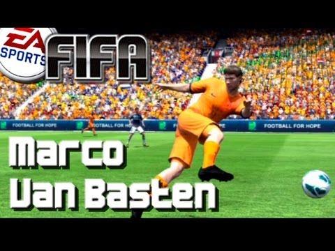 FIFA 13 - How to make VAN BASTEN - Pro Clubs Legend Tutorial