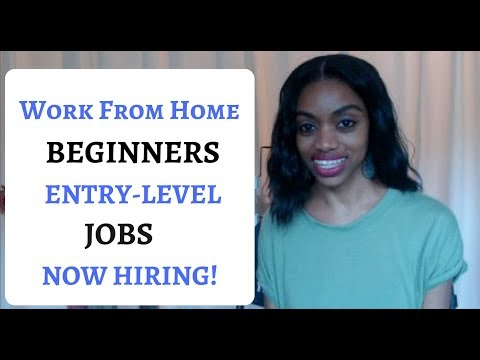 Best Work From Home Jobs For Beginners!