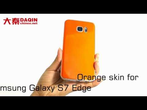 Manufacturer of orange Samsung Galaxy S7 Edge