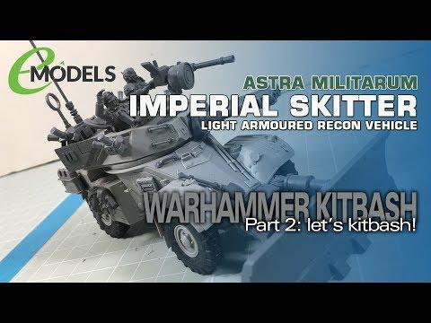 Warhammer 40K Imperial Skitter (AML-90 Kitbash) 2: Let's Kitbash!