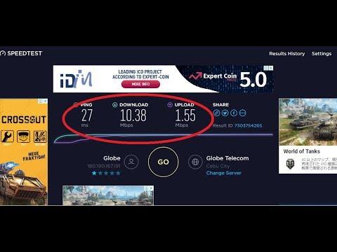 Globe Broadband Plan 10mbps 1899 pesos for Unlimited Internet