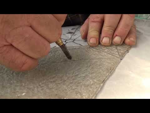 George shows how to make a cobweb Start to Finish
