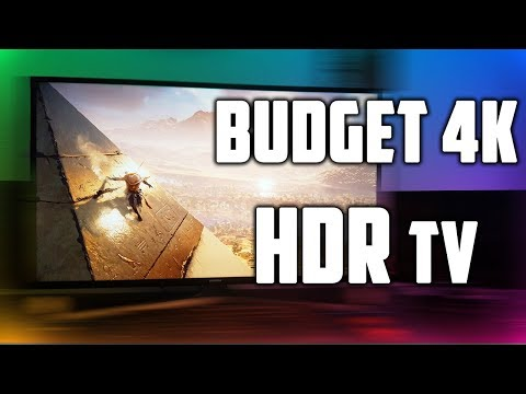 BEST Budget 4k HDR Gaming Tv - £379 SAMSUNG UE40MU6120 40