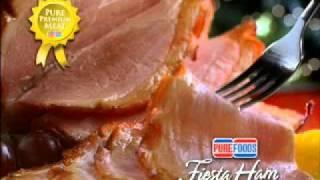 PUREFOODS ® Fiesta Ham, Commercial