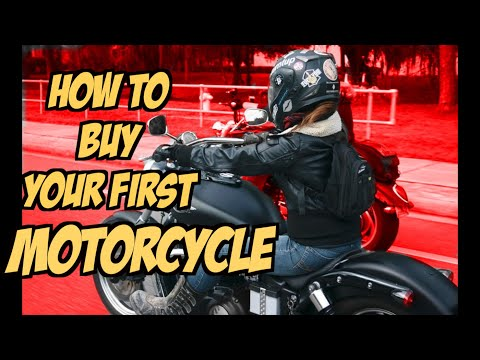 How To Buy Your First Motorcycle