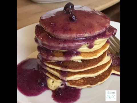 Low Carb Keto Pancakes made with Cream Cheese
