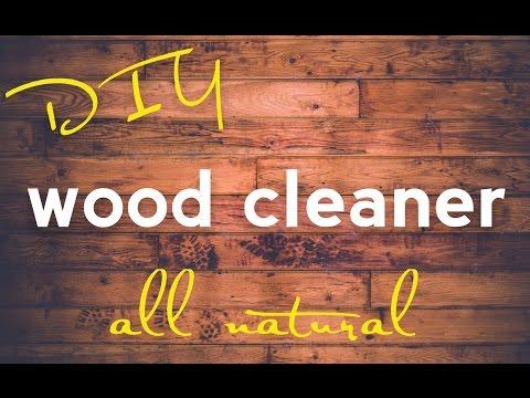 DIY Wood Cleaner / Polish - all natural
