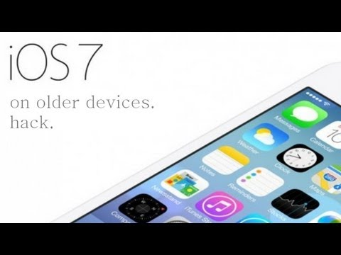 How to Get iOS 7 on iPhone 3G/3GS - iPod Touch 3G/4G - iPad 1/2 (Older Devices)