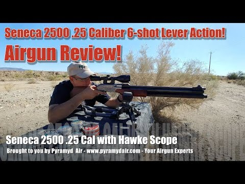 Is the Seneca 2500 the most versatile airgun on the market? Let's find out!  - Review by AirgunWeb!