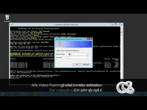 Exchange Server 2013 SP1: Troubleshooting Tutorial: Outlook Web Services überprüfen |video2brain.com